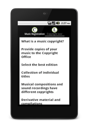 Copyright Your Music